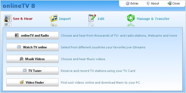 برنامج Quick OnlineTV Plus Worldwide 8.5.0.0