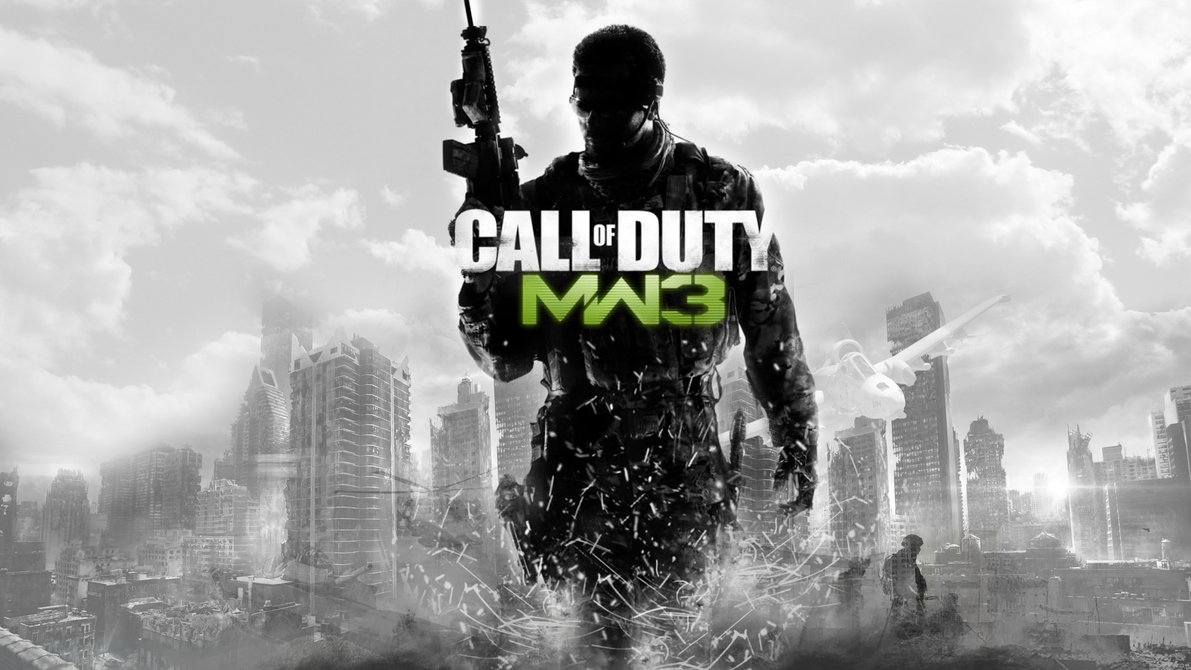 لعبة الأكشن  Call of Duty Modern Warfare 3-Black Box