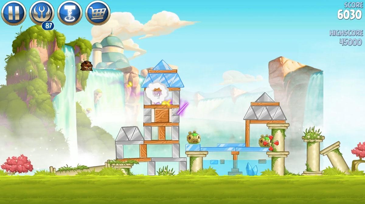 Angry Birds Star Wars II,Angry Birds,الطيور الغاضبة