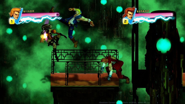 الأكشن,Double Dragon Neon 2014,المصارعة,Double Dragon Neon
