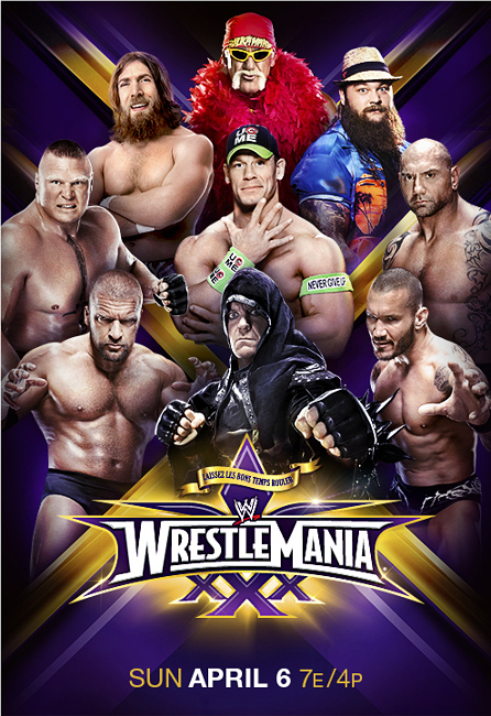 WWE WrestleMania 30 2014,مهرجان,WWE,WrestleMania