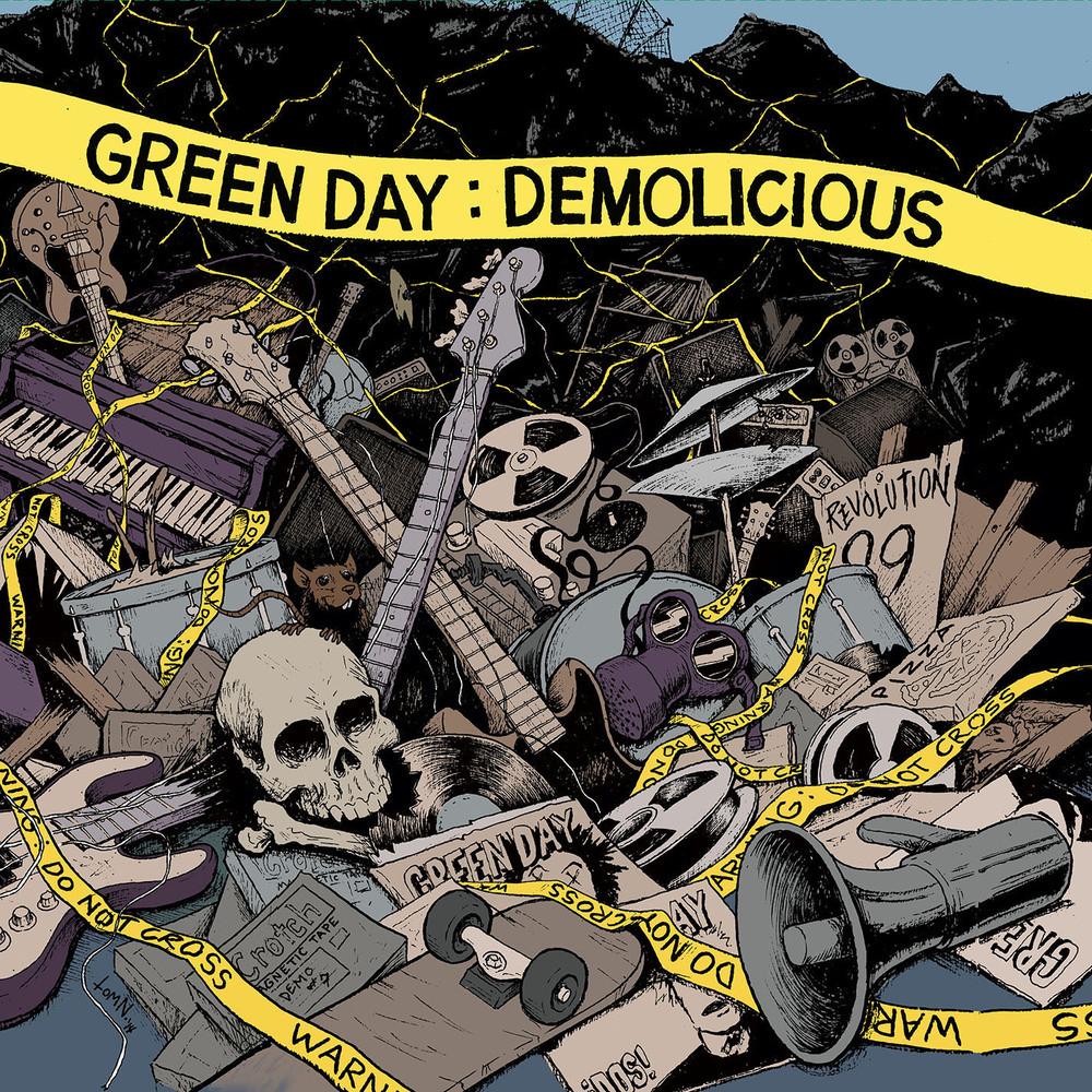 Green Day - Demolicious - 2014 - Record Store Day - MP3-320kbps