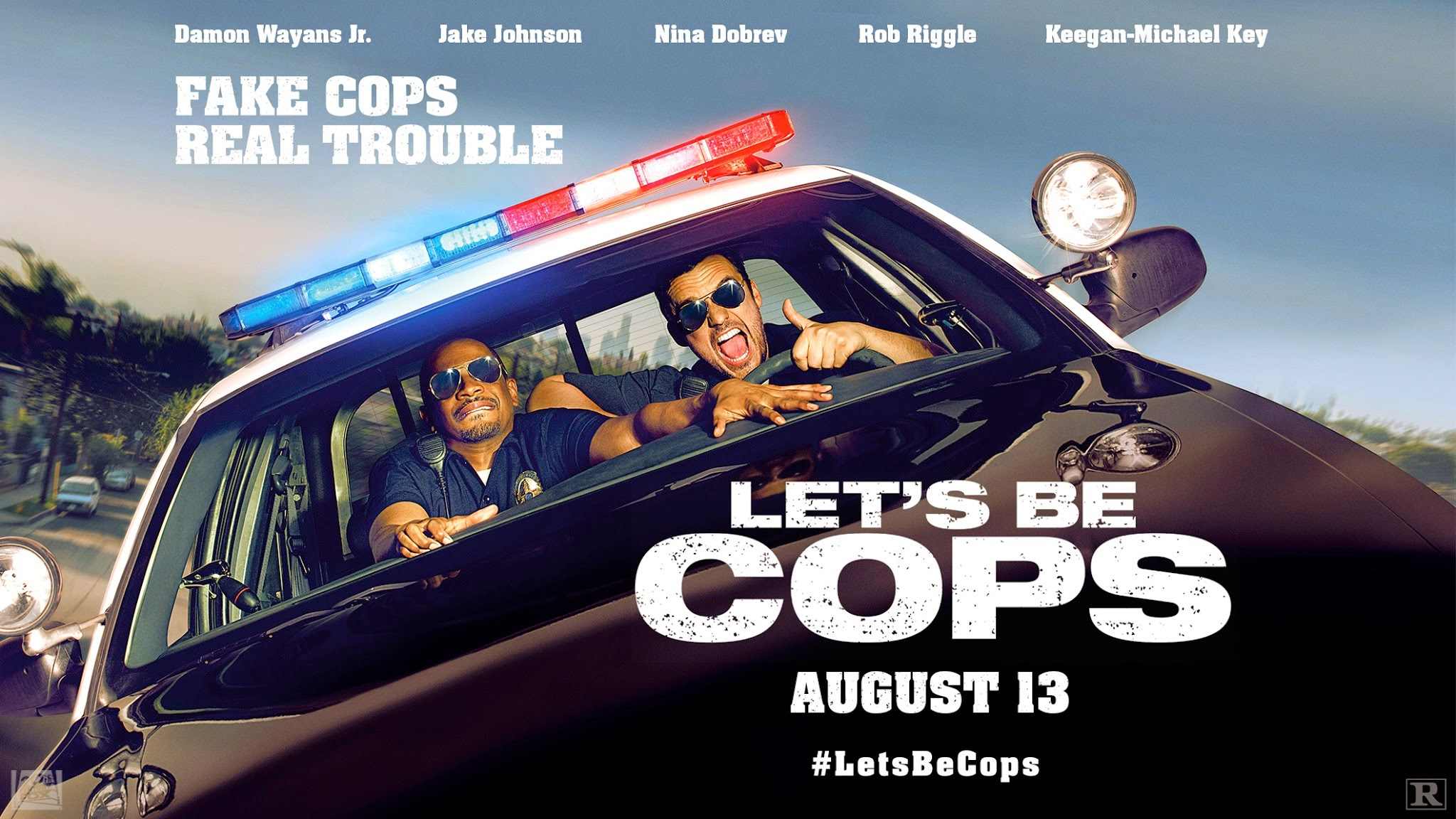 Let s Be Cops    Lets Be Cops Poster