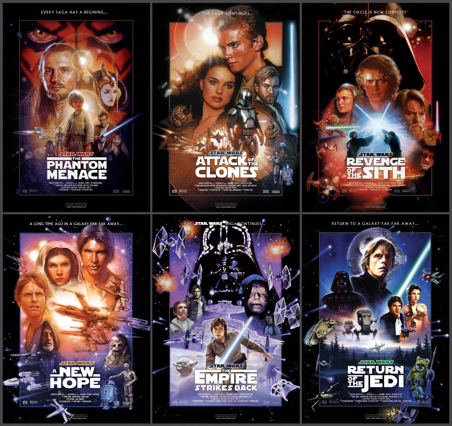الأكشن,المغامرة,الفانتازيا,Star Wars,حرب النجوم,Star Wars: Episode III - Revenge of the Sith,Star Wars: Episode II - Attack of the Clones,Star Wars: Episode I - The Phantom Menace,Star Wars: Episode VI - Return of the Jedi,Star Wars: Episode V - The Empir