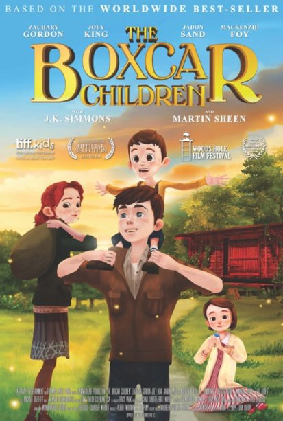 فيلم  The Boxcar Children 2014 مترجم