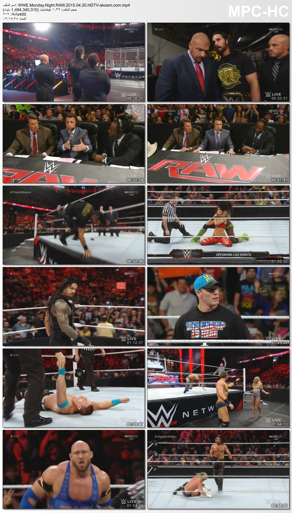 Monday,Night,WWE,RAW