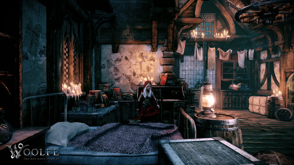 Woolfe: The Red Hood Diaries,المغامرات,Woolfe,The Red Hood Diaries