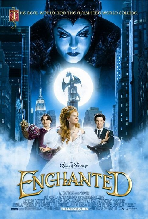 فيلم Enchanted 2007 مترجم