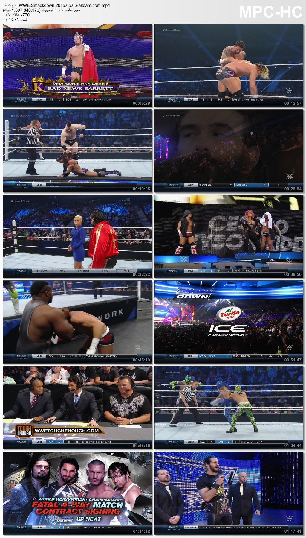 WWE,Thursday,Night,Smackdown