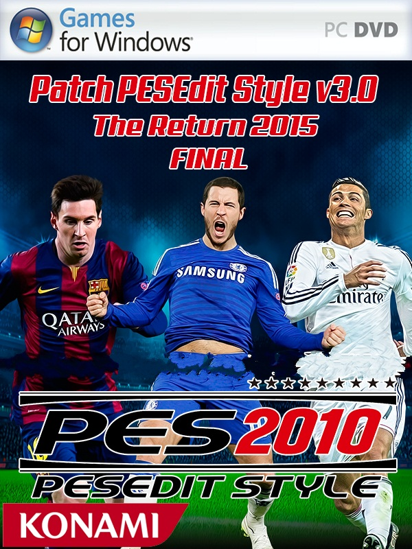أحدث باتش لPES 2010 باتش PESEdit Style v3.0 The Return