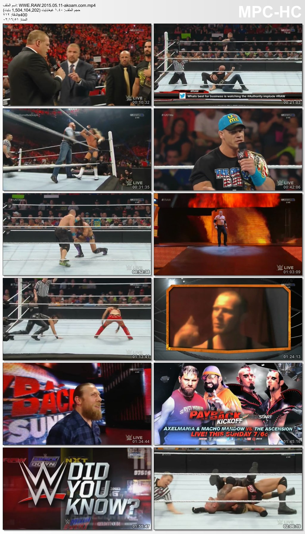 WWE,RAW,Monday,Night