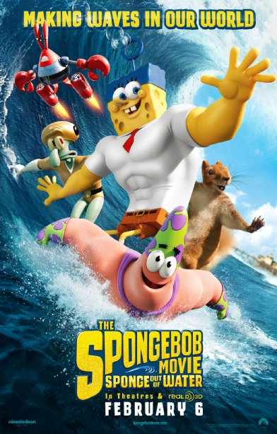 فيلم The SpongeBob Movie Sponge Out Of Water 2015 مترجم
