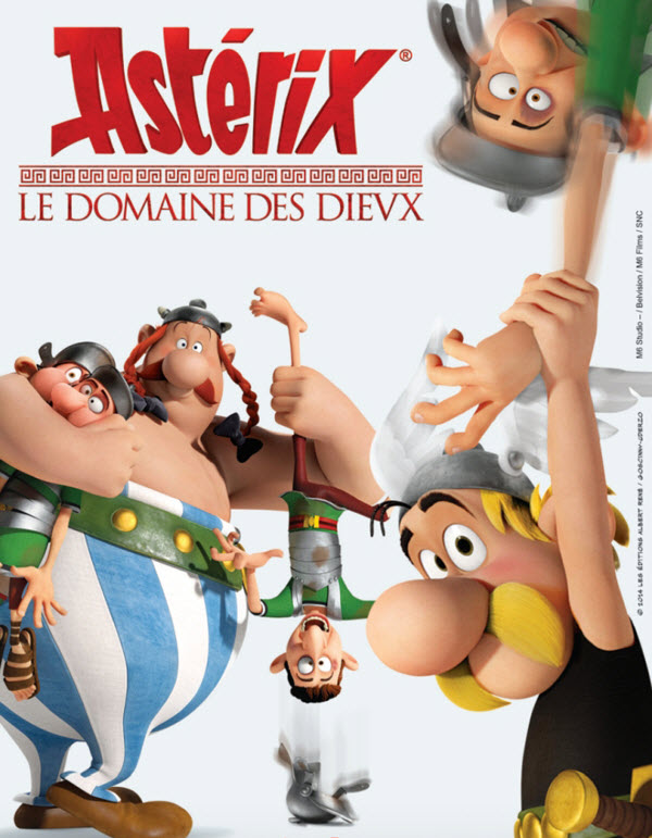 فيلم Asterix and Obelix: Mansion of the Gods 2014 مترحم