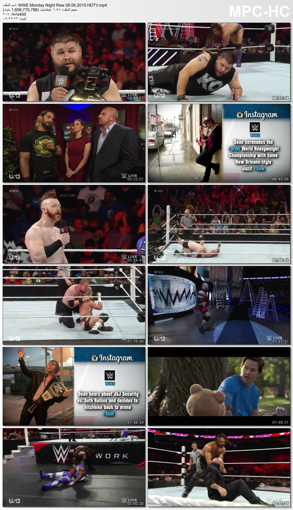 WWE,RAW,Monday,WWE Monday Night Raw