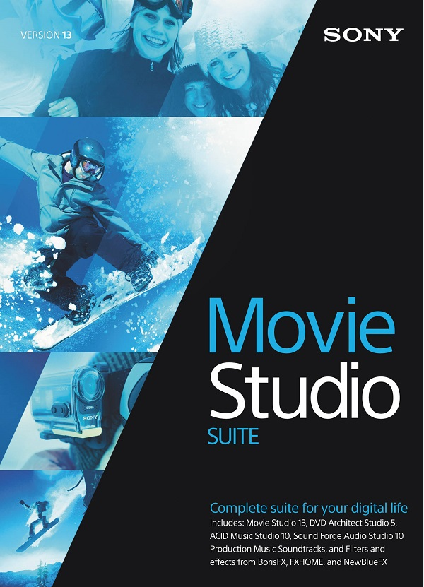 عملاق مونتاج الفيديو SONY Vegas Movie Studio Platinum 13.0 Build 942|943