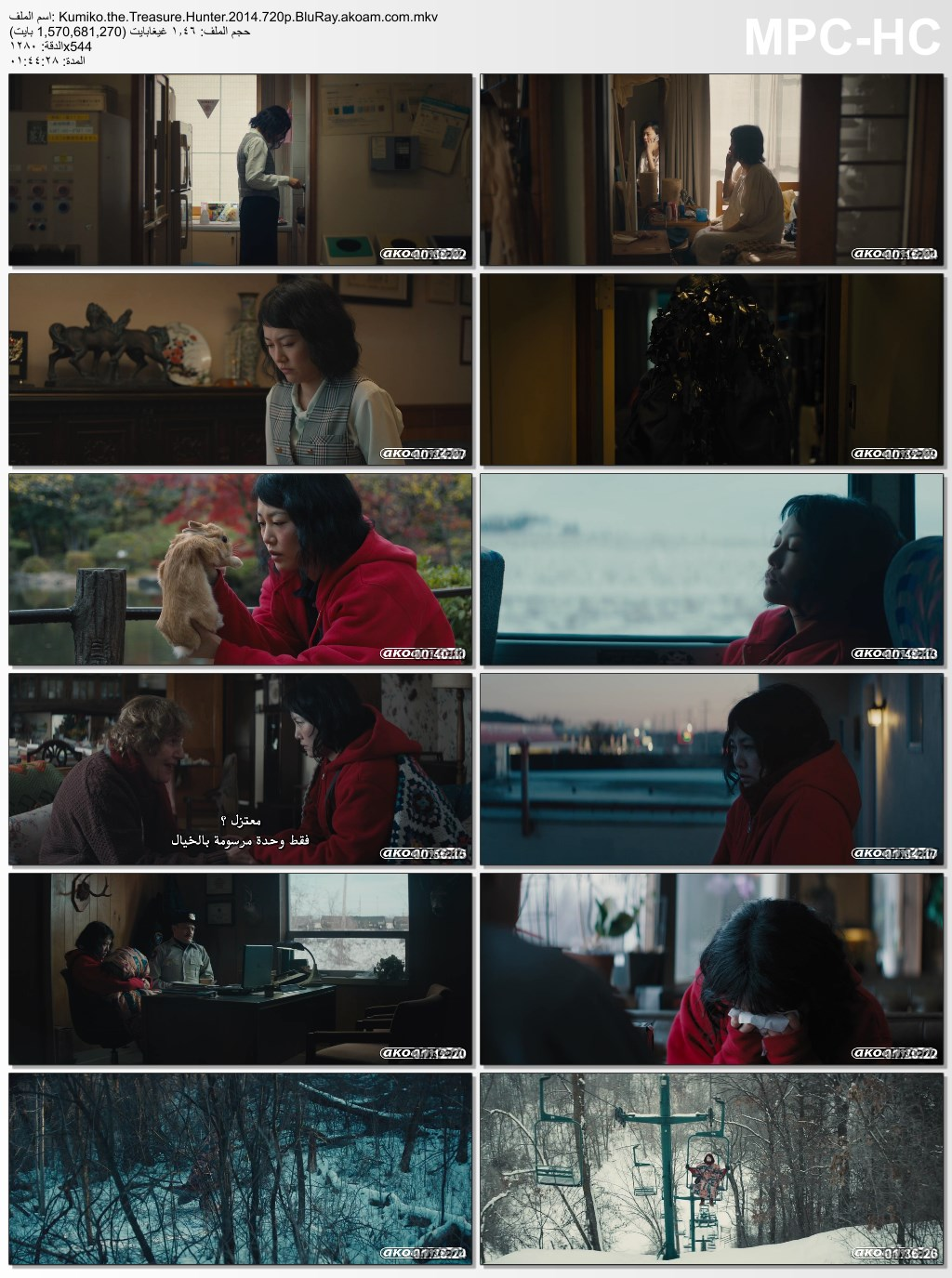 Kumiko,the Treasure Hunter,Kumiko,the Treasure Hunter 2015,Kumiko,the Treasure Hunter 2015,Kumiko,the Treasure Hunter 2014,Kumiko,the Treasure Hunter,البلوراي,الدراما,رينكو كيكوتشي,Rinko Kikuchi