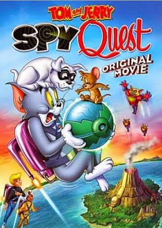 فيلم Tom and Jerry Spy Quest 2015 مترجم