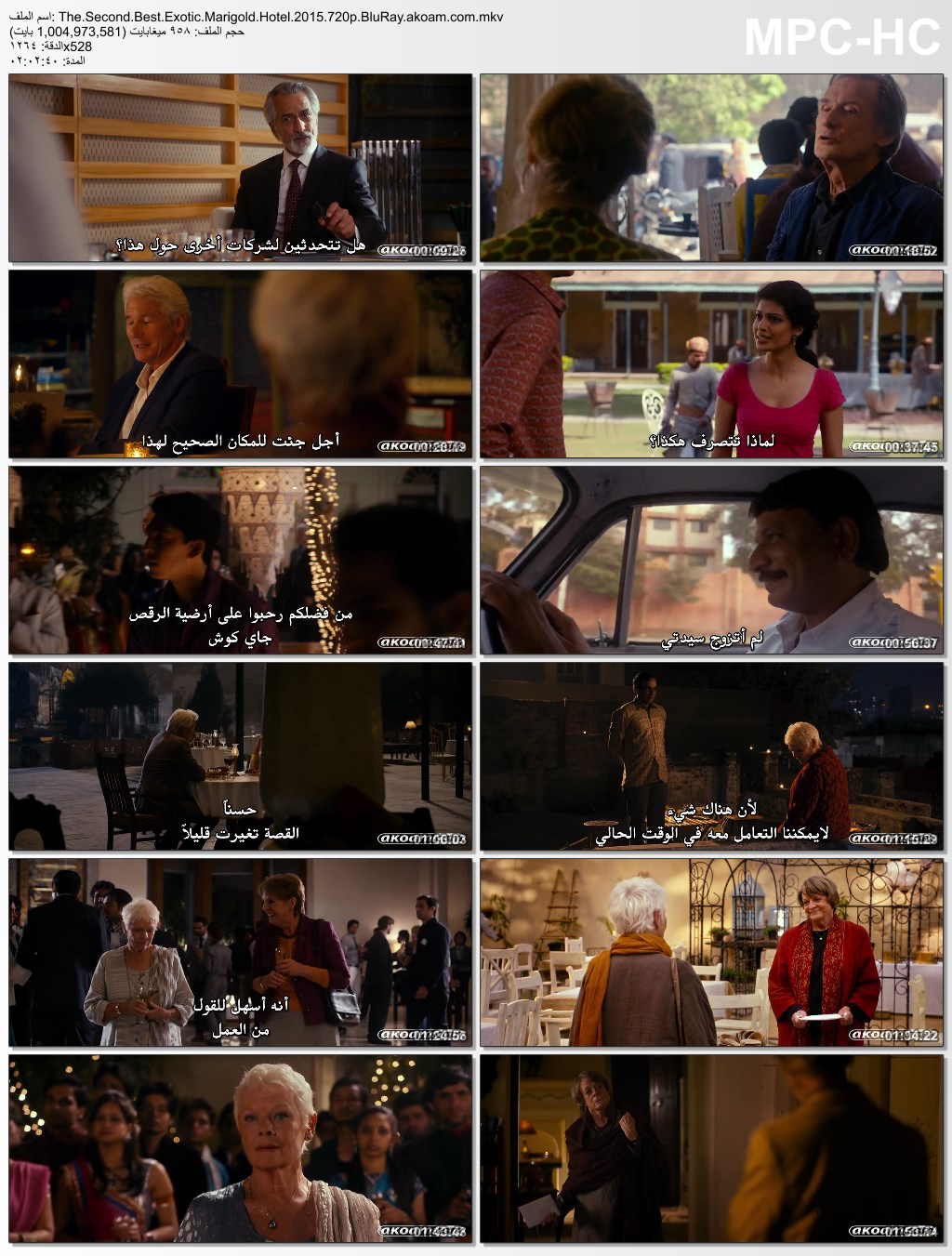 The Second Best Exotic Marigold Hotel,Second,Best,Marigold,Exotic,الكوميديا,الدراما