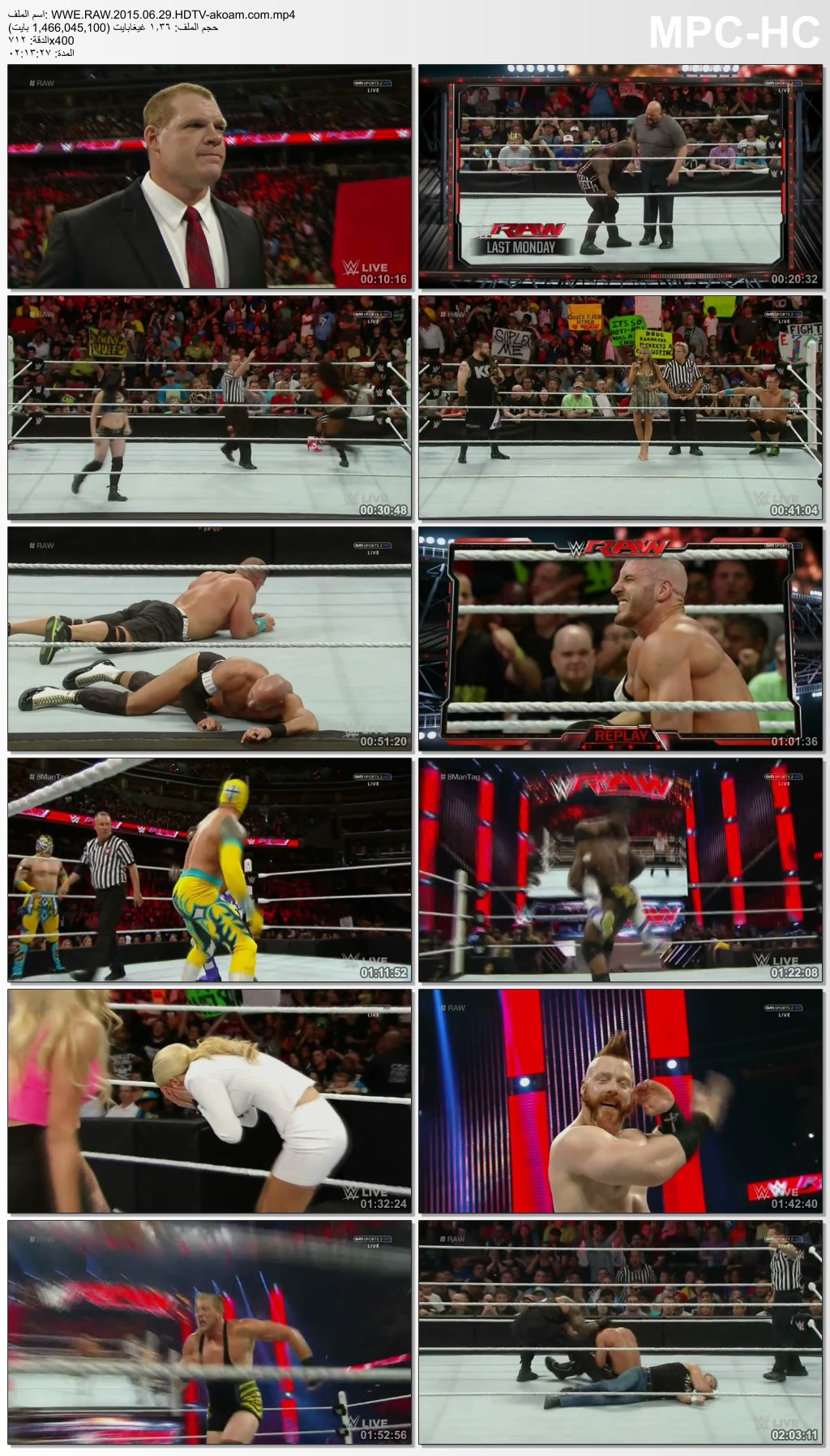 WWE,RAW,WWE Monday Night Raw
