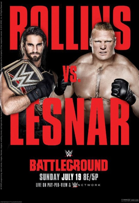 مهرجان WWE Battleground 2015