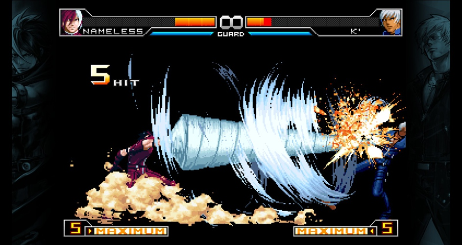 THE KING OF FIGHTERS,THE KING OF FIGHTERS 2002,THE KING OF FIGHTERS 2002 UNLIMITED MATCH,Plaza,الاكشن,القتال,لعبة خفيفة