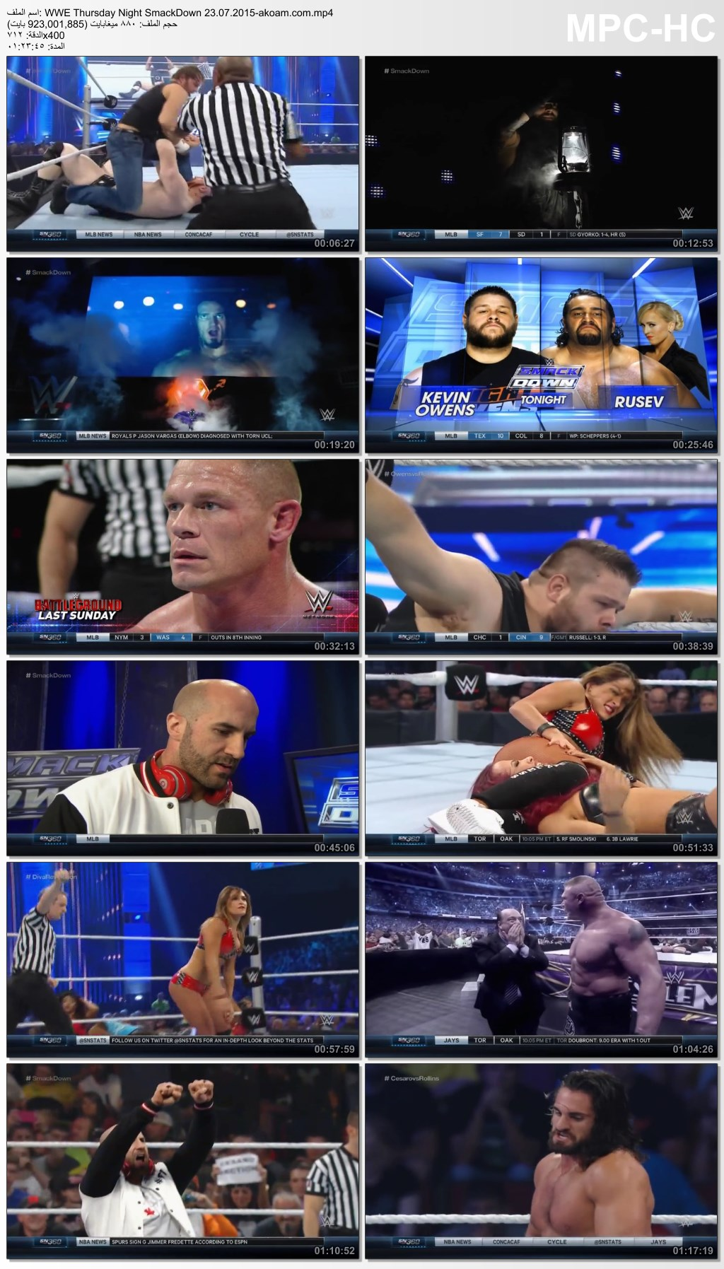 SmackDown,WWE,WWE Thursday Night SmackDown
