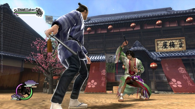 الاكشن,القتال,Samurai,Way of the Samurai 4