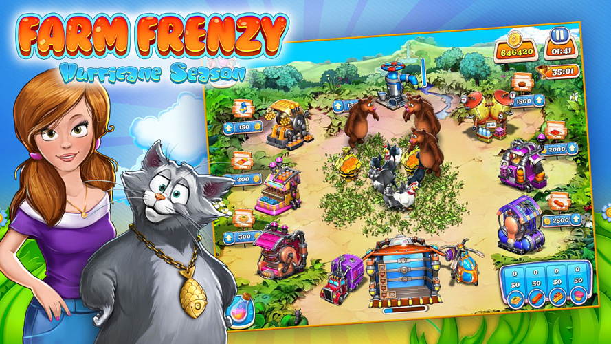 Farm Frenzy: Hurricane Season,Farm Frenzy,Hurricane Season,المغامرات,التسلية