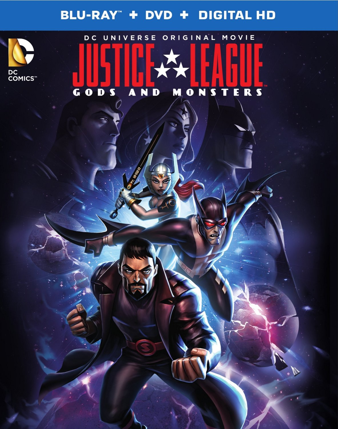 فيلم Justice League Gods and Monsters 2015 مترجم
