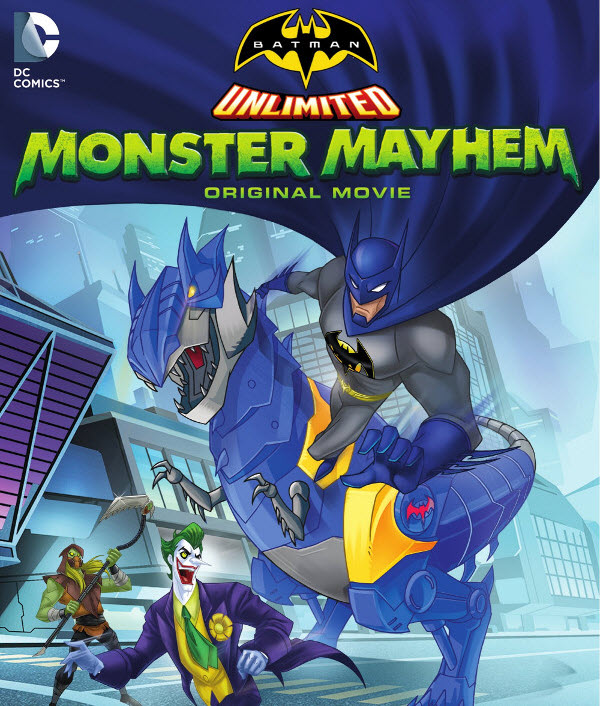 فيلم Batman Unlimited: Monster Mayhem 2015 مترجم