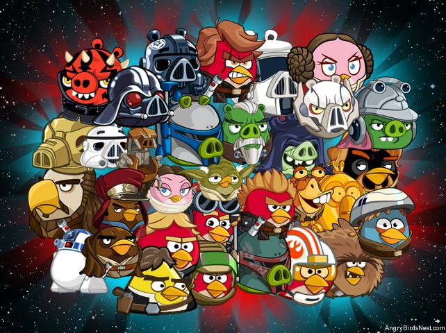 Angry Birds Star Wars 2,الطيور,الغاضبة,لعبة,الطيور الغاضبة 2,حرب النجوم,الطيور الغاضبة حرب النجوم,Angry,Birds,Angry Birds 2