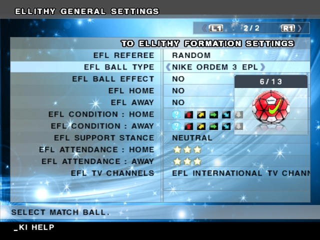 EFL International Patch,باتش,EFL International Patch 2015,باتش بيس,باتش بيس 2006,pes 2006