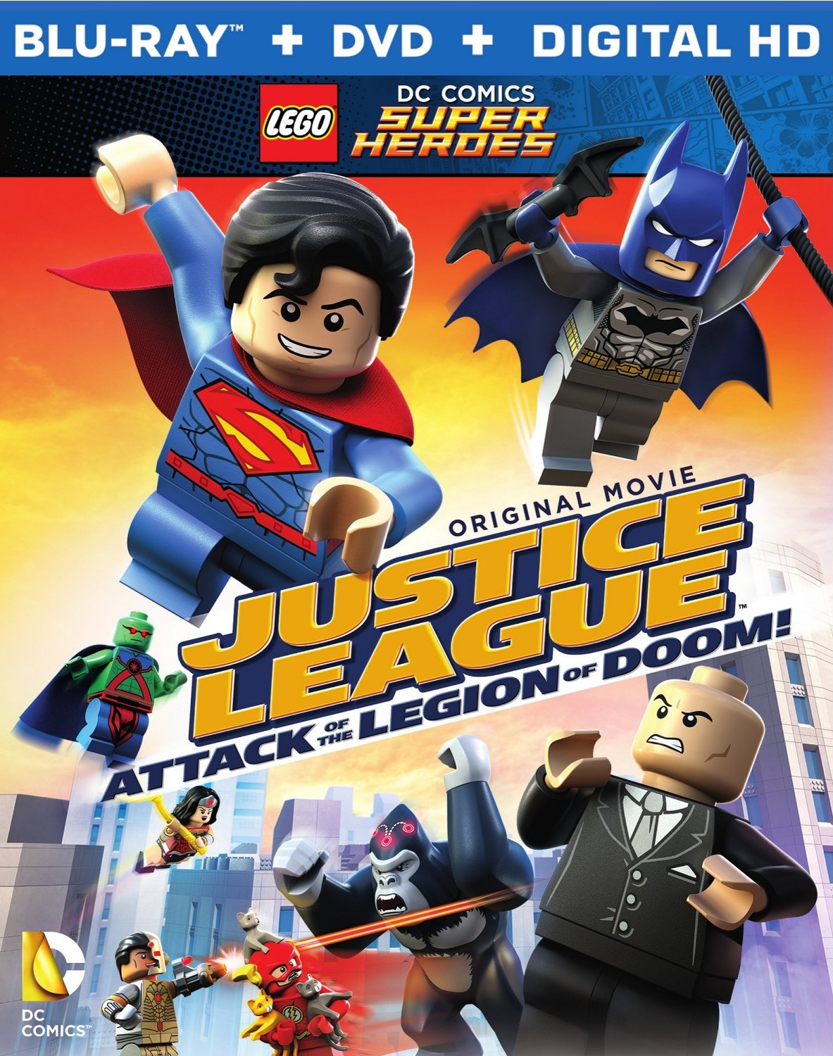 فيلم LEGO DC Super Heroes: Justice League: Attack of the Legion of Doom 2015 مترجم
