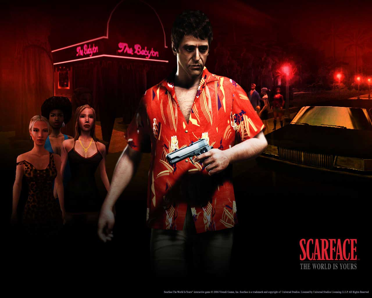 لعبة Scarface The World is Yours