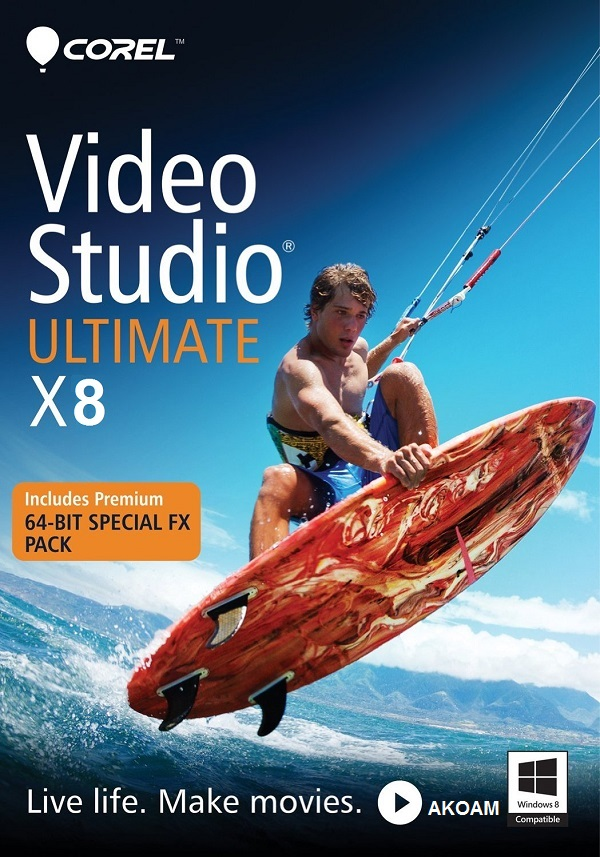 برنامج المونتاج Corel VideoStudio Ultimate X8 v18.2.0.0