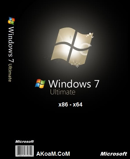 ويندوز Windows 7 Ultimate Sp1 August 2015
