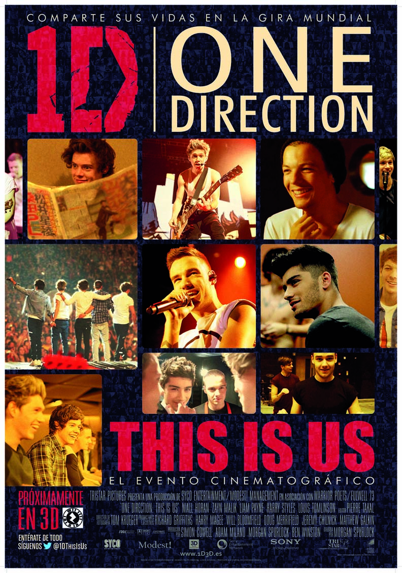 فيلم One Direction: This Is Us 2013 مترجم