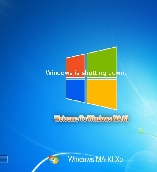ويندوز Windows Maki XP 2013 المعدل