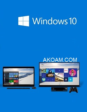 ويندوز Windows 10 Pro AIO 18in1 OEM ESD en-US Aug 2015