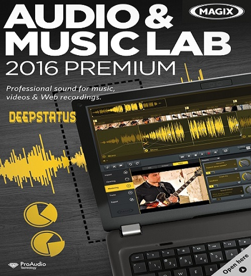 برنامج MAGIX Audio Music Lab 2016 Premium v21.0.1.28
