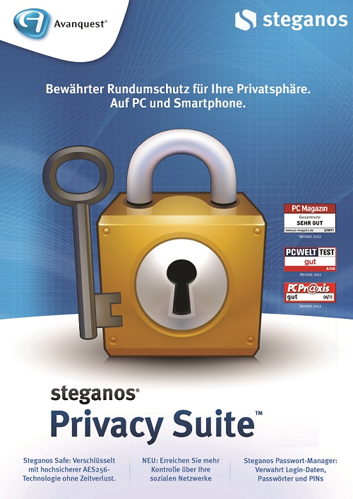 برنامج Steganos Privacy Suite 17.0.1