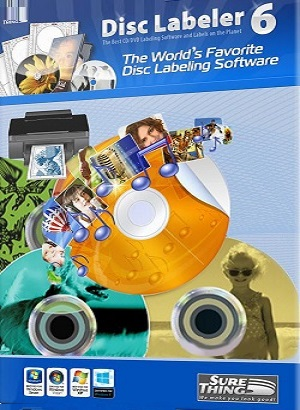 برنامج SureThing Disk Labeler Deluxe Gold 6.2.137.0 Multilingual