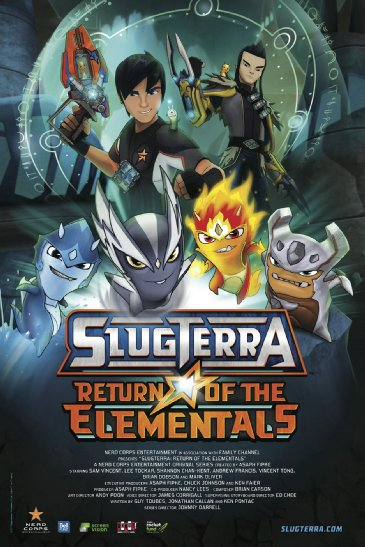 فيلم Slugterra: Return of the Elementals 2014 مترجم