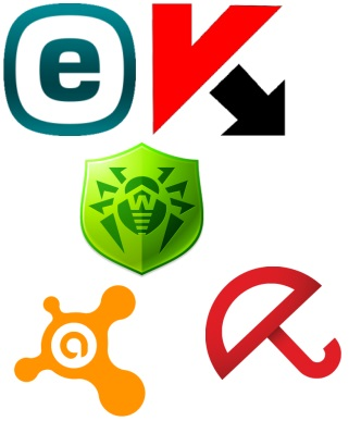 The keys for ESET NOD32, Kaspersky, Avast, Dr.Web, Avira 08.09.2015