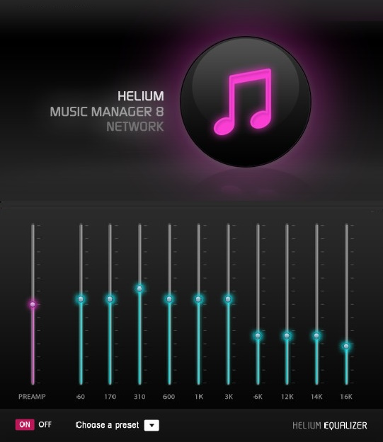 برنامج Helium Music Manager 11.3 Build 13550