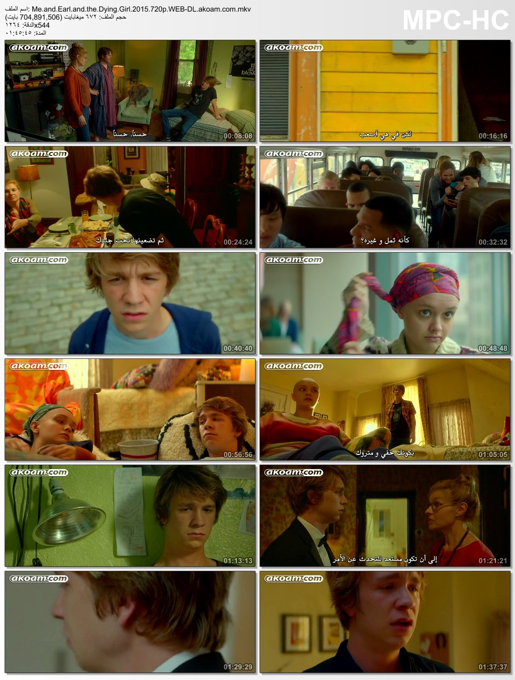 Me and Earl and the Dying Girl,Me and Earl and the Dying Girl  2015,الكومييديا,الدراما