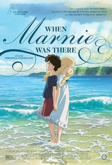 فيلم When Marnie Was There 2014 مترجم