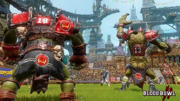 Blood Bowl 2,CODEX,الاكشن
