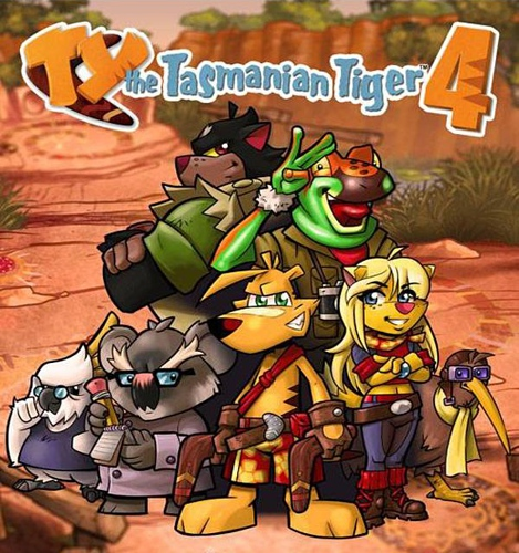 لعبة TY the Tasmanian Tiger 4