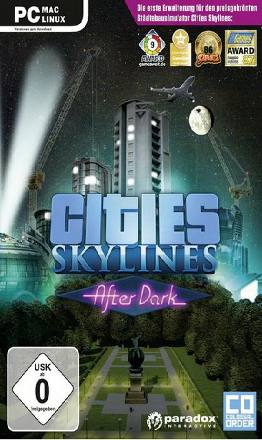 لعبة Cities Skylines After Dark بكراك Codex